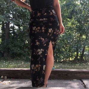 Dresses & Skirts - Silk kimono skirt